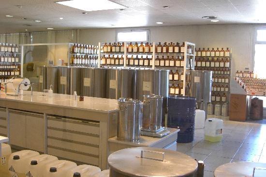 Parfumerie Fragonard : Fragonard factory