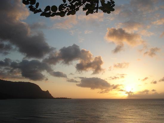 Sunset from Makana Terrace