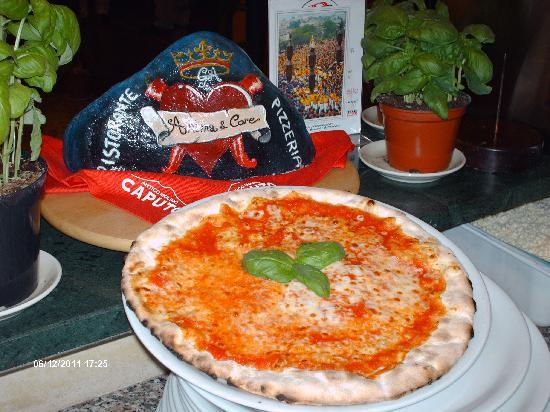 Ristorante Anima & Core : Foto Ricordo della Pizza
