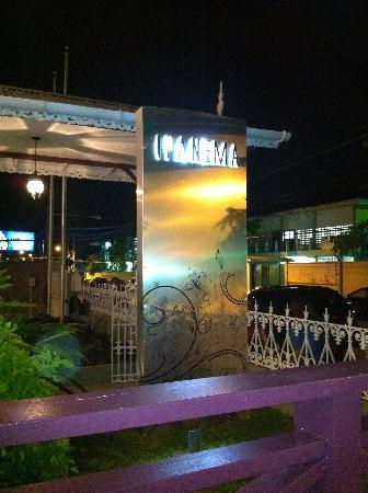 Ipanema Restaurant & Lounge: A view of the sign