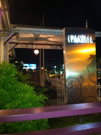 Ipanema Restaurant & Lounge: A bit of the frontal