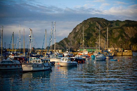 Norbury House Hotel: Ilfracombe harbour at sunset