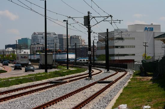 Norfolk VA Light rail tracks and PETAu0027s headquarters. & Light rail tracks and PETAu0027s headquarters. - Picture of Norfolk ... azcodes.com