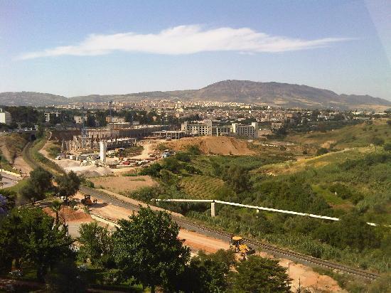 Menzeh Zalagh Hotel: Ausblick vom Balkon