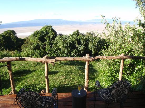 andBeyond Ngorongoro Crater Lodge: Balcony View
