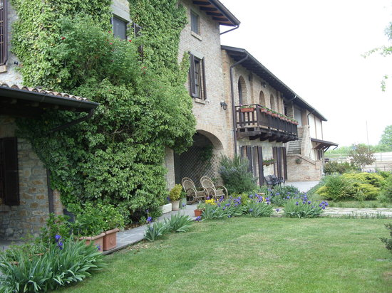 Vernasca, Italien: The main house