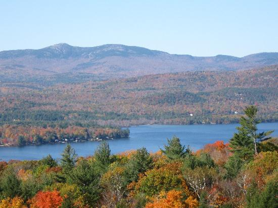 A Newfound Bed & Breakfast: Just one of many fabulous views of Newfound Lake from A Newfound B&B