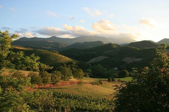 Agriturismo Ca' le Suore: Grandioser Ausblick