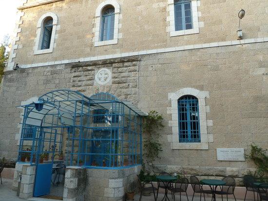 La Maison d'Abraham: entrée maison Abraham