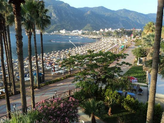 Fantasia Hotel De Luxe Marmaris: room balcony view
