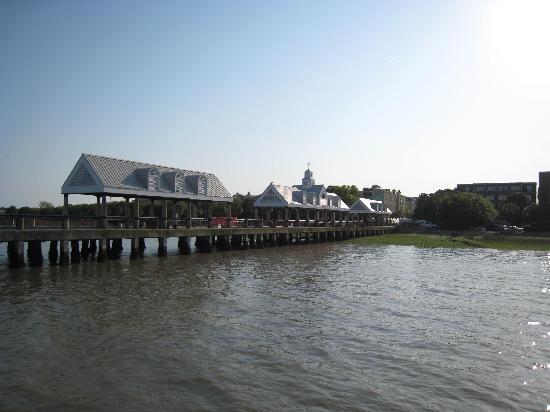 Pier in Charleston