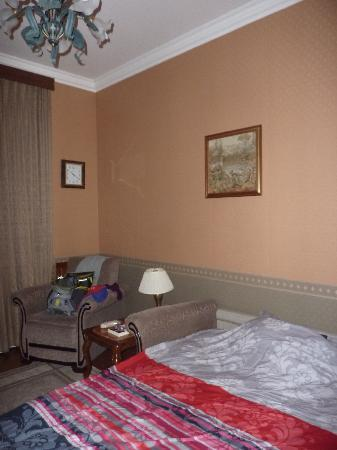 Sherborne ApartHotel: Sofa bed in the living room