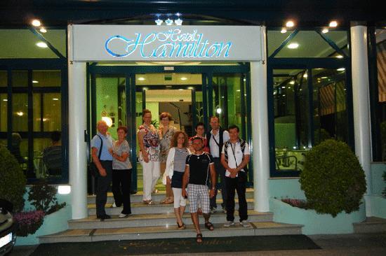 all'Hotel Hamilton