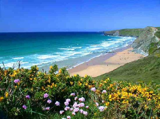 MMT Travel Newquay: one of the bays we visit