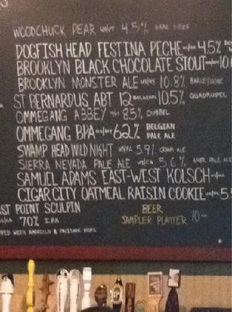 Mr. Beery's: 1/2 the draft list....