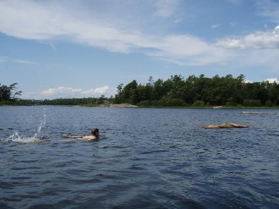 Massasauga Provincial Park: Swimming in the Massasauga