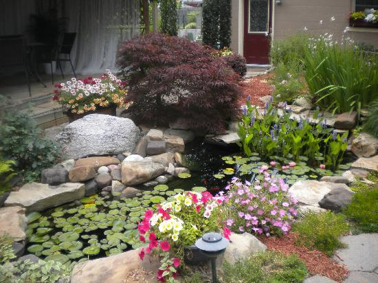 Cincinnati's Weller Haus Bed and Breakfast: Beautiful Pond