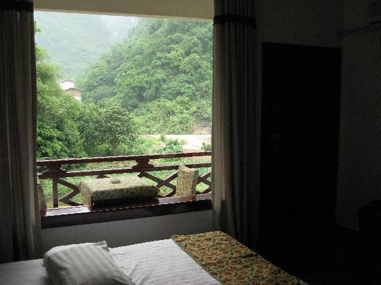 Snow Lion Riverside Resort: View from room-3