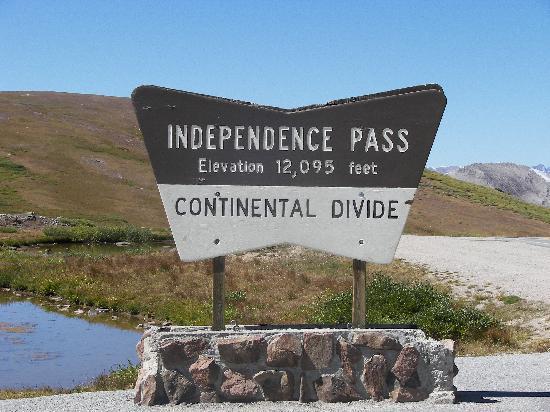 Aspen, Kolorado: at independence pass