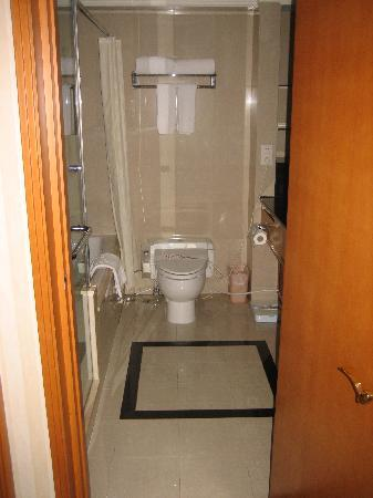 Lee Garden Service Apartment Beijing: Master bathroom with heated elecronic toilet