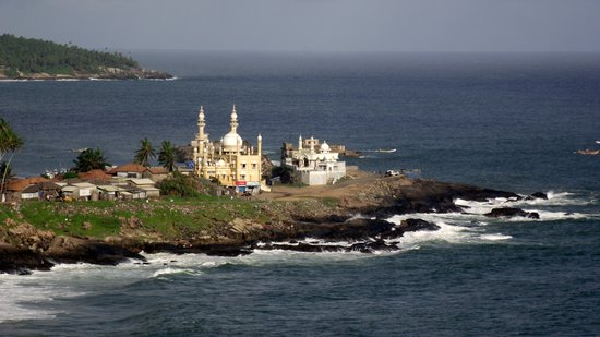 Kovalam, Indien: another view from light house