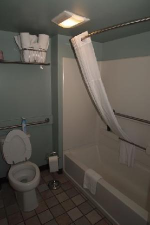 Crosswinds Motel: Bathroom