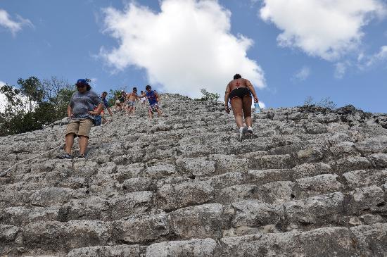 Coba, Mexico: The Climb