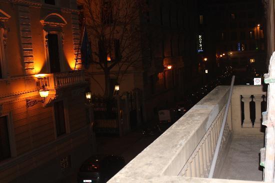 Le Camere dei Conti: romantica vista dal balcone