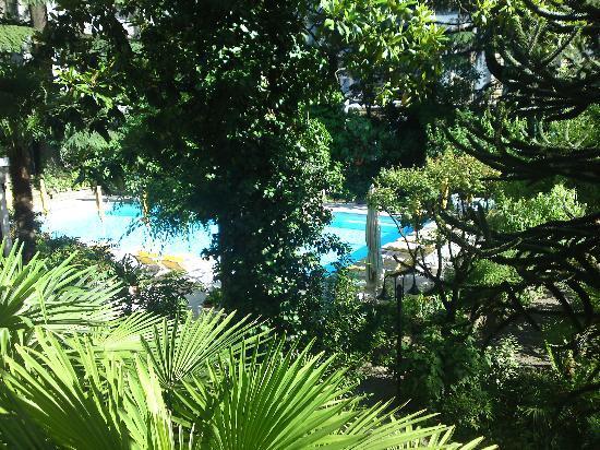 Hotel Palma: Blick von unserem Zimmer aus