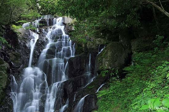 Itoshima, Japan: 白糸の滝