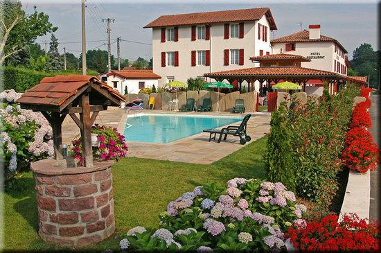 Itxassou, Fransa: le jardin