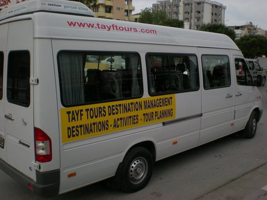 Tayf Tours: Tour vehicle with AC