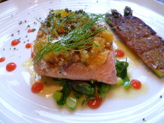 The Ledbury: Salmon