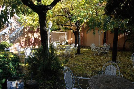 Hotel ANDRIA : Jardin