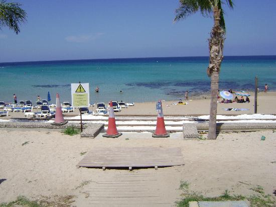 Constantinos the Great Beach Hotel: beach access