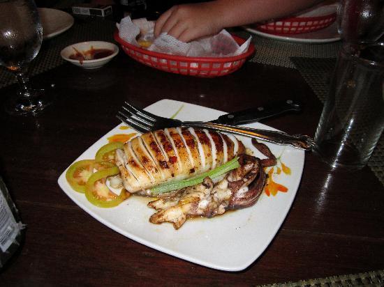 Niko's Cabanas & Restaurant: squid