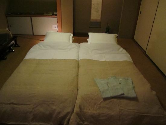 Tawaraya Ryokan : こだわりにこだわりぬいた寝具。