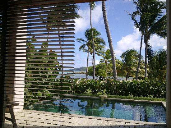Le Cap Est Lagoon Resort & Spa : little pool view