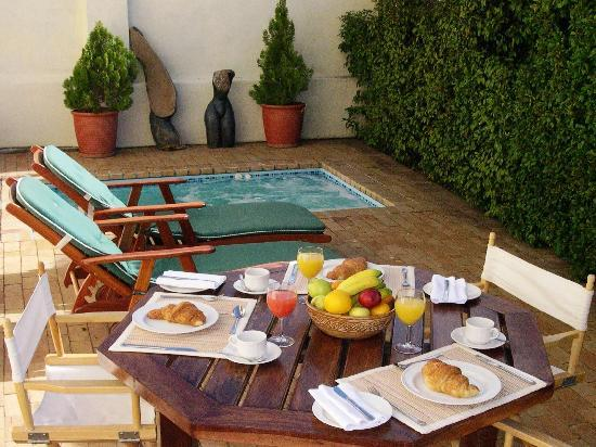 Esperanza Guest House : Jacuzzi/Spash pool