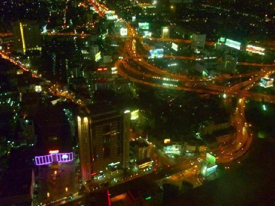 terrace night view picture of baiyoke sky hotel bangkok