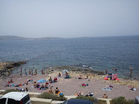 Beach of bugibba