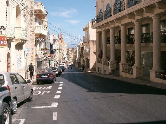 Bugibba, Malta: Millieah high street