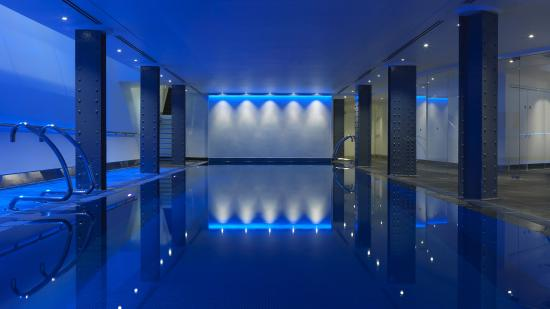 One Aldwych: The stunning chlorine-free pool with underwater music and mood lighting