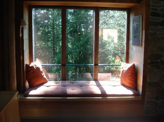Deep Forest Cabins at Mt. Rainier : My favourite part of the house