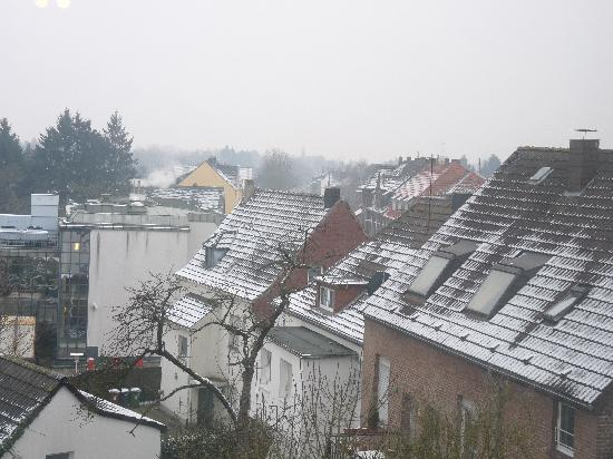 Kleve, Germany: view from our room