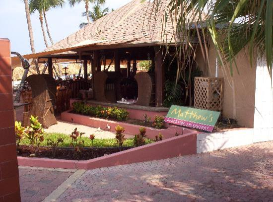 Casa Del Mar Beach Resort: on-site restaurant