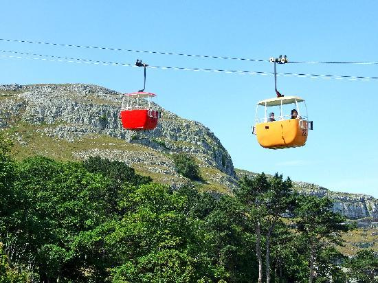 The Hilary Guest House: Cable Car ride up the Great Orme Llandudno