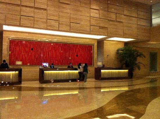 Sheraton Shanghai Hongkou Hotel: Reception