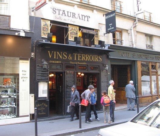 Restaurant Vins Et Terroirs Paris E
