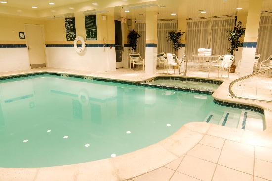 Take A Dip After Your Workout In Our Indoor Pool Or Relax In Our Jacuzzi Picture Of Hilton